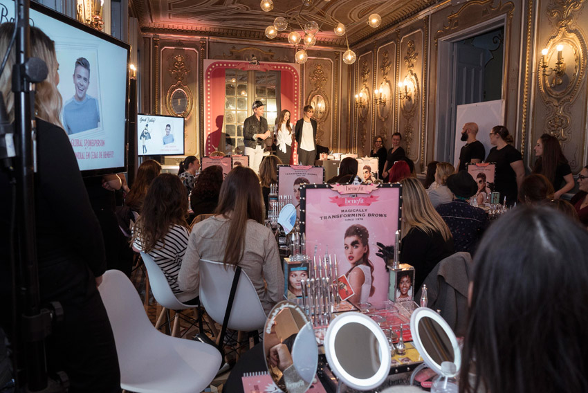 BROW COLLECTION BENEFIT COSMETICS PRESENTATION